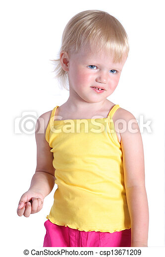 little girl - csp13671209