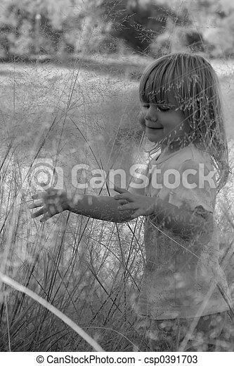 little girl - csp0391703