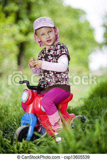 Little girl - csp13605539