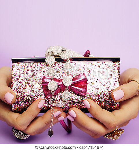 little girl stuff for princess woman hands holding small cute