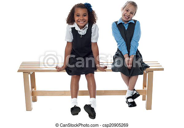 Two on the bench