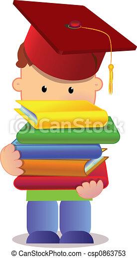 little graduate - csp0863753
