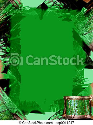Little Green Drum - csp0011247