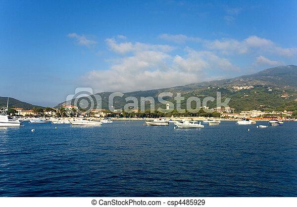 Little Harbor Of Marina Di Campo - Elba Island - csp4485929