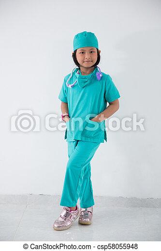 7dd9fe1e2a3 little kid profession uniform as a nurse
