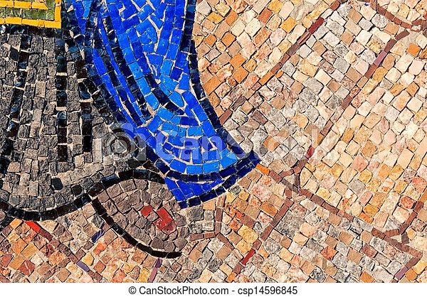 Little mosaic - csp14596845