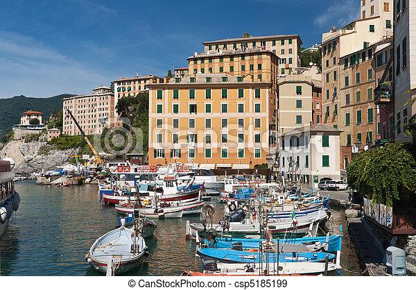little port in Camogli - csp5185199