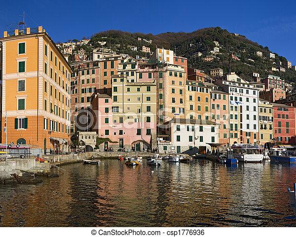 Little port of Camogli - csp1776936