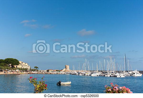 Little Port On Elba Island - csp5326500