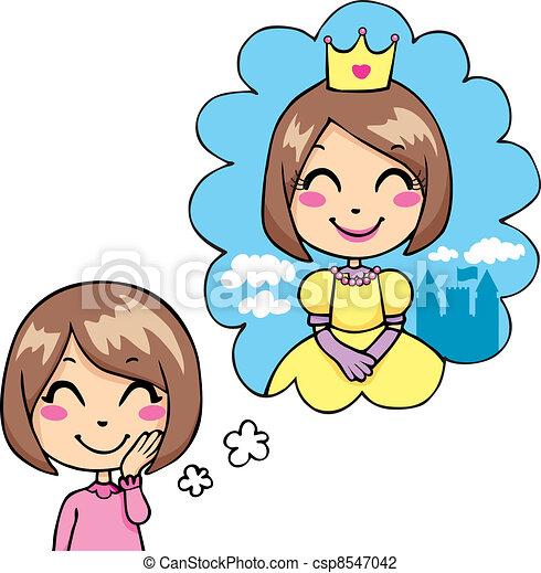 Little Princess Dream - csp8547042