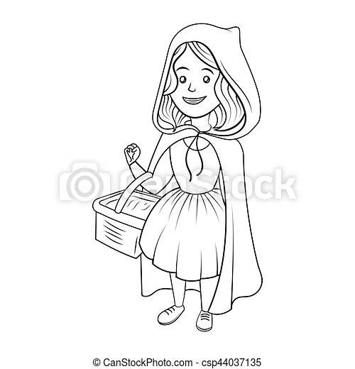 Comps Canstockphoto Co Uk Little Red Riding Hood C