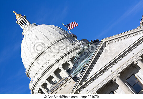 Little Rock, Arkansas - State Capitol - csp4031070