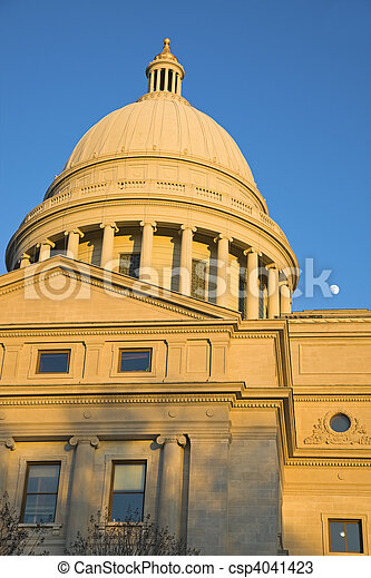 Little Rock - State Capitol - csp4041423