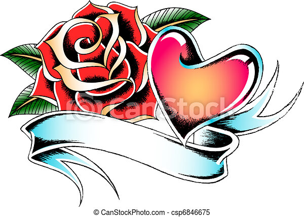little rose heart stock illustrations search clipart drawings rh canstockphoto com