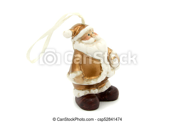 Little Santa Claus christmas tree toy - csp52841474