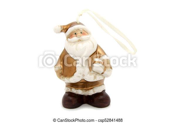 Little Santa Claus christmas tree toy - csp52841488