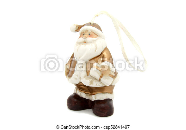 Little Santa Claus christmas tree toy - csp52841497