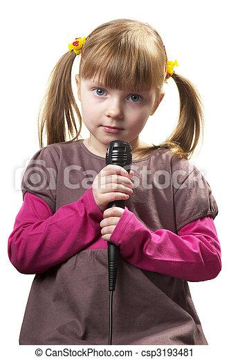 Little singer - csp3193481