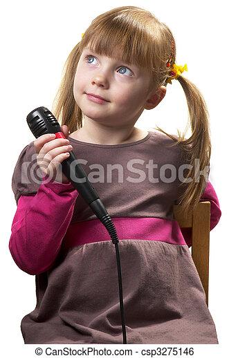 Little singer - csp3275146