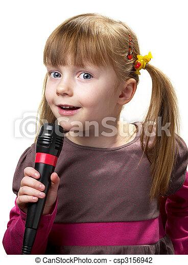 Little singer - csp3156942