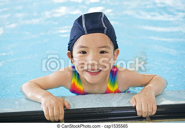 Little Swimmers - csp1535565