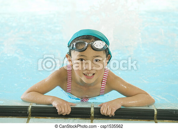 Little Swimmers - csp1535562
