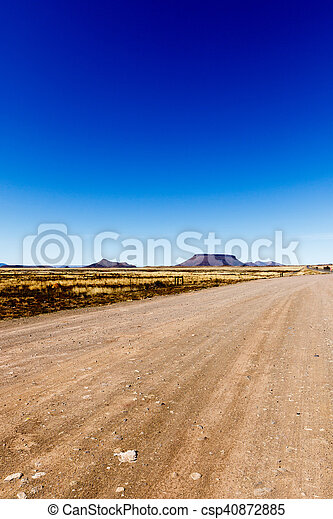 Little table mountain view in Cradock - csp40872885