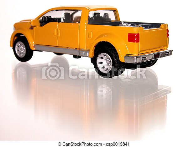 Little Toy Truck - csp0013841