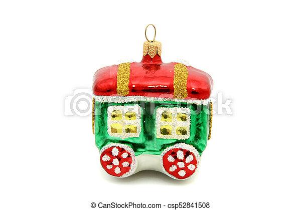 Little train christmas tree toy - csp52841508