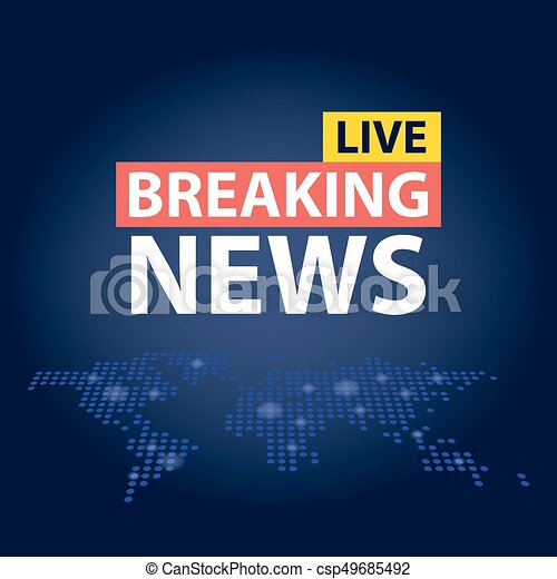 Live breaking news headline in blue dotted world map eps live breaking news headline in blue dotted world map background vector illustration gumiabroncs Image collections