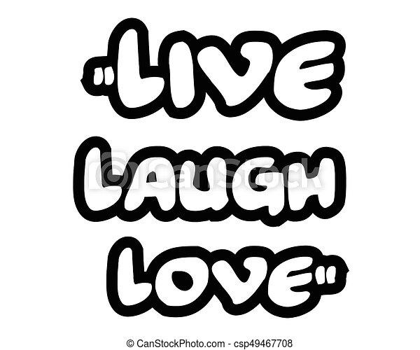 Live Laugh Love Quote Amazing Live Laugh Love.creative Inspiring Motivation Quote Concept