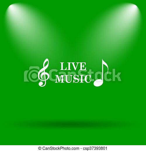 Live music icon - csp37393801