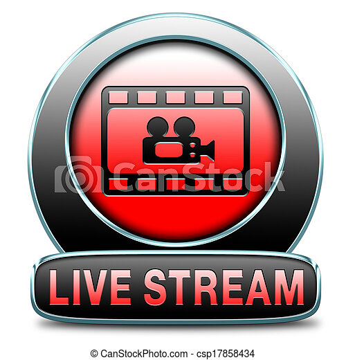 live stream video - csp17858434