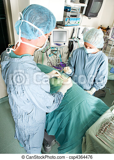 Live Surgery - csp4364476