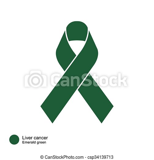 Liver cancer ribbon image of awareness ribbons color meaning of liver cancer ribbon csp34139713 maxwellsz