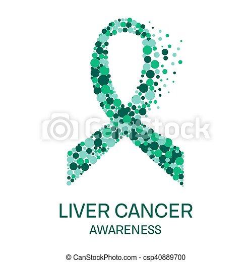 Liver cancer ribbon liver cancer awareness poster design template liver cancer ribbon csp40889700 maxwellsz