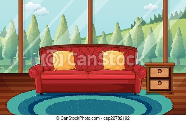 Living Room   Csp22782192