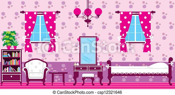 Living room - csp12321646