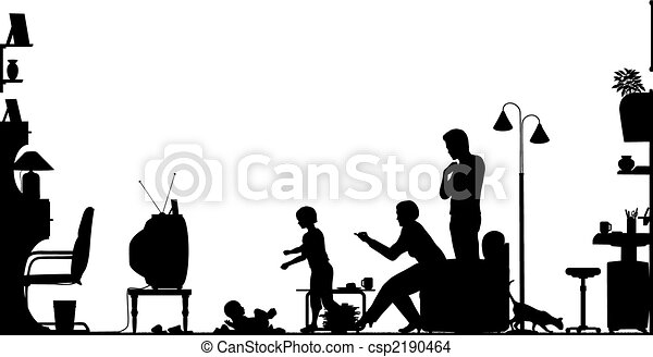 Living room - csp2190464