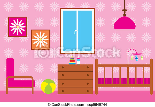 Living room. Vector illustration, color full eps vector - Search ...