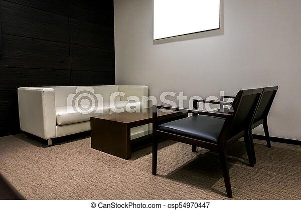 living room furniture - csp54970447