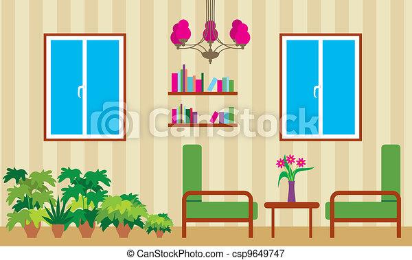 Living room - csp9649747