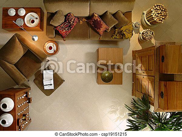 Living room - csp19151215