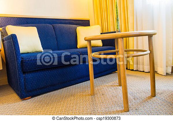 living room - csp19300873