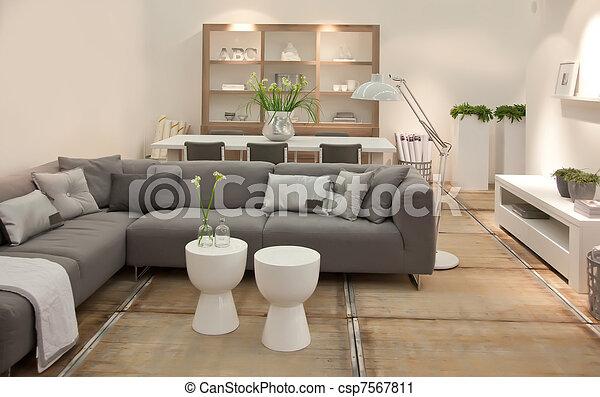 living room - csp7567811
