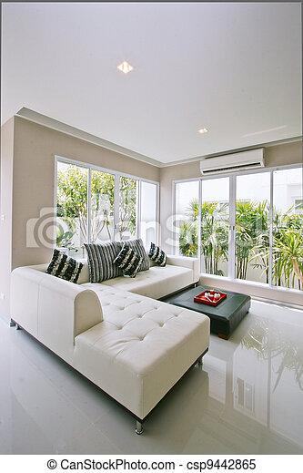 living room - csp9442865