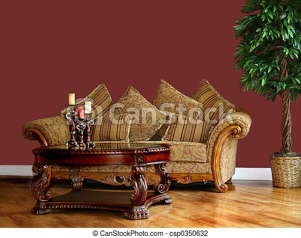 Living Room - csp0350632