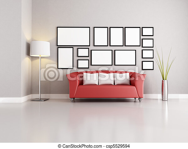 living room - csp5529594