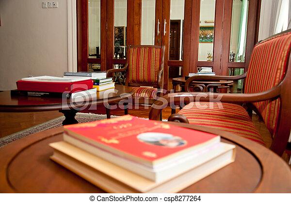 living room - csp8277264