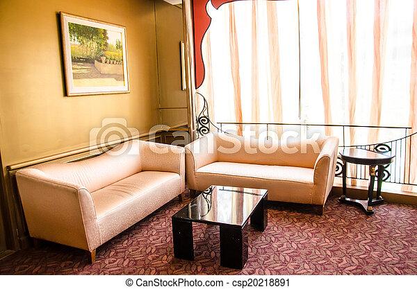 Living room - csp20218891